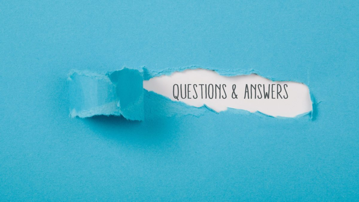 """""""Questions and answers"""" in text"""