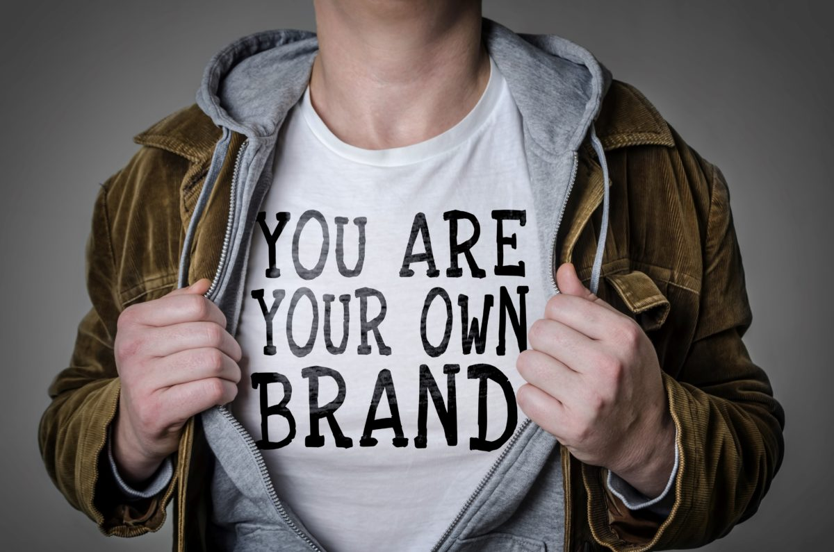 """""""You are your own brand"""" t shirt"""